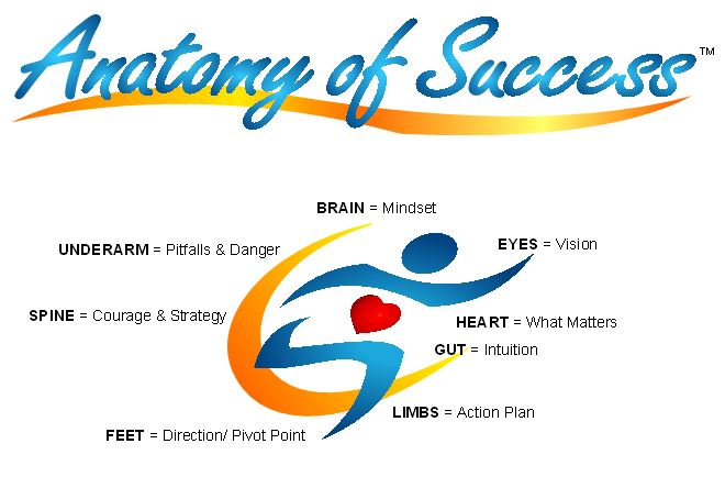 Anatomy of Success logo with parts2-4-15